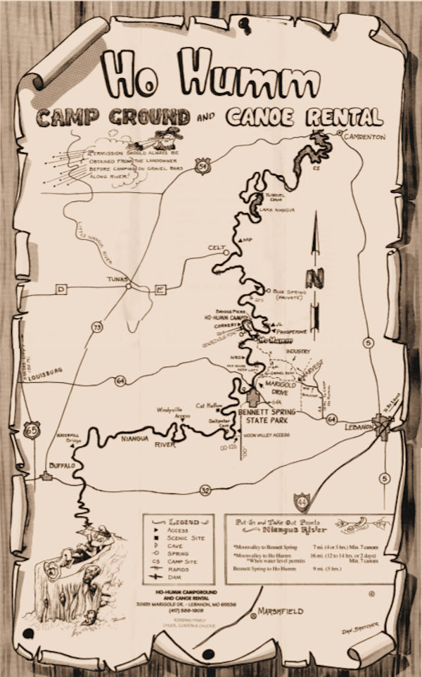 HoHumm Original Map